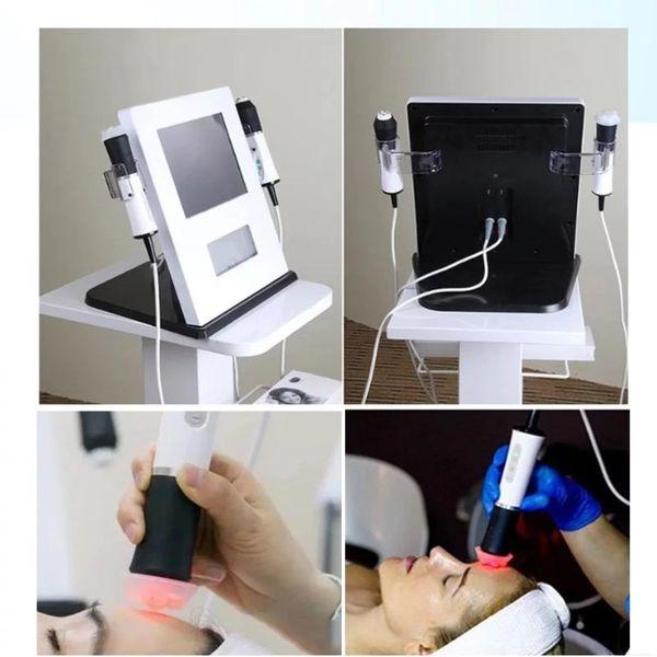 Oxygène 2 en 1 et 3 en 1 co2 Face Lift Oxygen rides Remover RF machine visage équipement de beauté anti-vieillissement