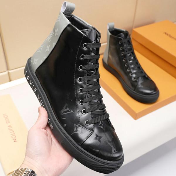 Herrenschuhe Mode Stiefel Hohe Sneakers Bequeme Freizeitschuhe Outdoor rutschfeste Atmungsaktive Männer Schuhe Stiefel M # 53 Bottes Hommes Vintage