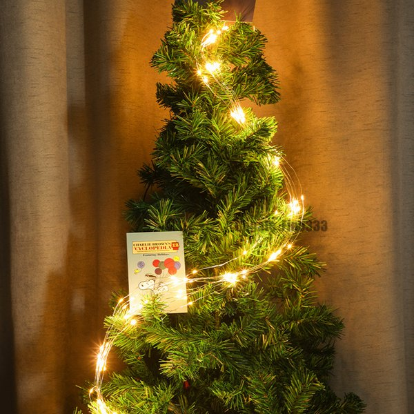 Led Strings Christmas Tree Lighting Strings 2m 200 Lamps Us Eu Au Uk Plug Holiday Lighting Decoration White String Lights Battery Powered String
