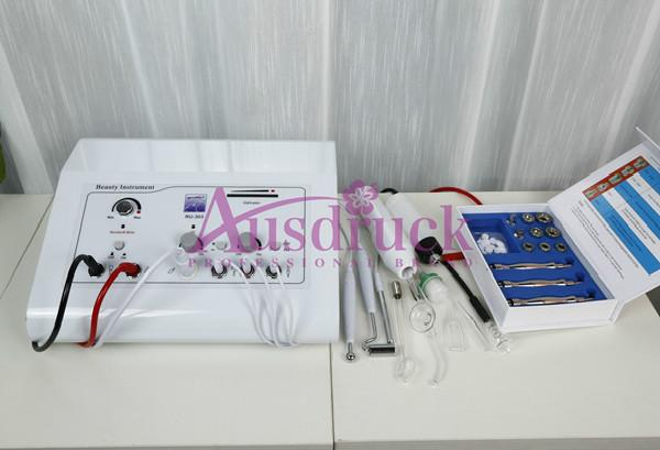 Updated 5in1 Microdermabrasion Dermabrasion Peeling Machine High Frequency Galvanic Skin Care Face Beauty Equipment