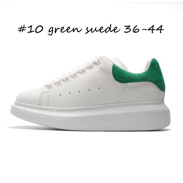 # 10 зеленый замши