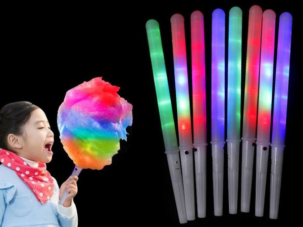 Led cotton candy glowing tick light up fla hing cone fairy flo tick lamp fe tive party chri tma decoration gift to kid hip