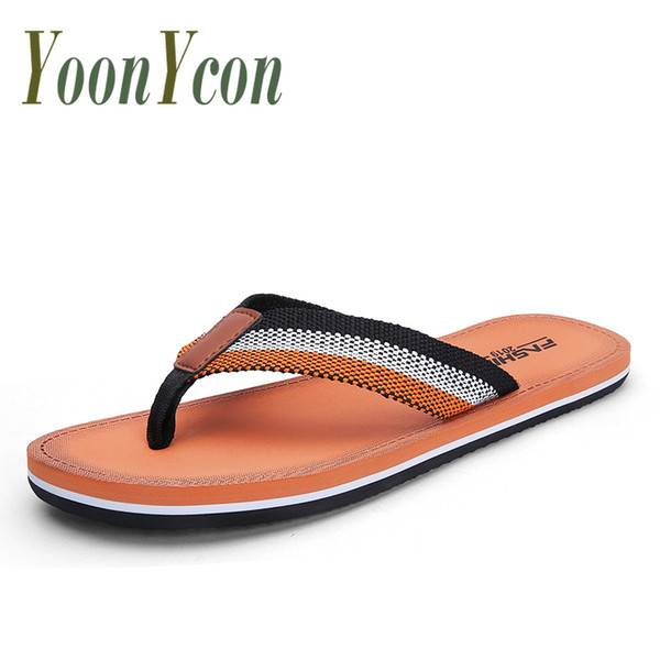 Summer Indoor Pool Non-slip Lightweight Flip Flops Men's Black Red Fashion Casual Massage Slippers Comfortable Flip Flops Men