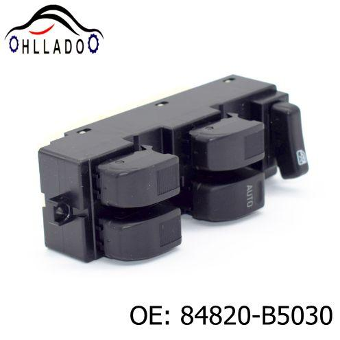 top popular HLLADO New Window Control Switch 84820-B5030 84820B5030 Electric Power Window Master Switch For T oyota High Quality 2021