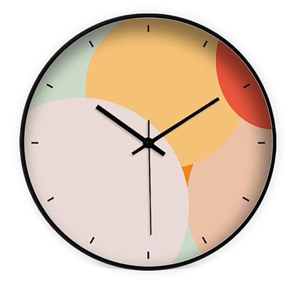 Yatak odası Sessiz Duvar Saati Yaratıcı Salon Masa Dekoratif Duvar Saati Modern Tasarım Ana Amerikan Ev Dekorasyonu Saatler