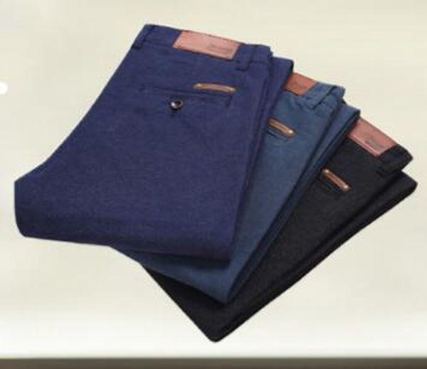 Erkek rahat pantolon bahar tarzı mikro-mermi lüks tasarımcı erkek fitment pantolon öğrenci gençlik pantolon