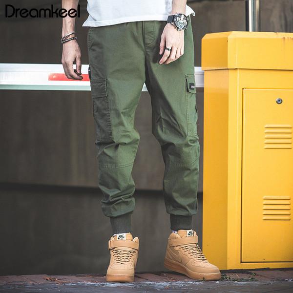 2019 Pantaloni della tuta Pantaloni da jogging Pantaloni da uomo Pantaloni Uomo Streetwear Fitness Tattico Harem Pantaloni Mans Tuta Pantaloni sportivi
