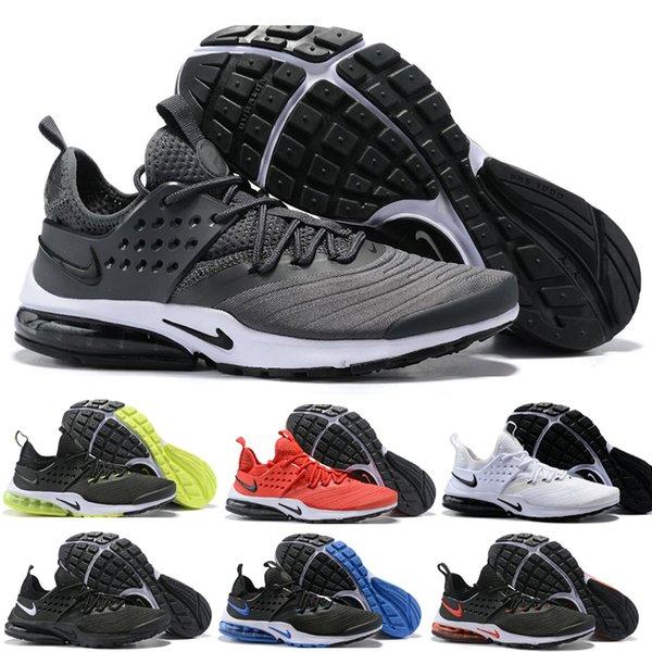 nike air presto 2019 Presto BR QS Mens Womens Sneaker Tripel Nero Bianco rosso Scarpe Da Corsa scarpe da ginnastica scarpe da ginnastica atletica taglia 36-45 spedizione gratuita