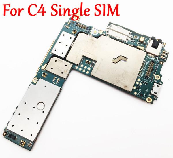 Sony Xperia Için tam Çalışma Orijinal Kilidini Anakart C4 S55T E5303 E5306 E5353 Tek SIM Mantık Devre Elektronik Panel