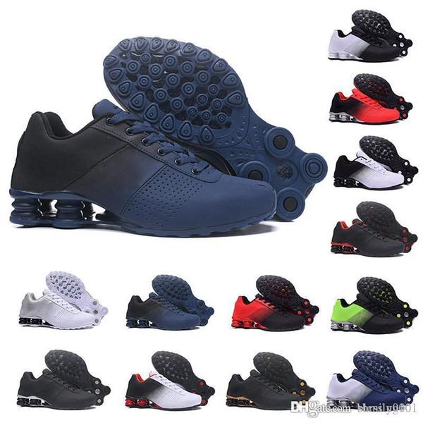 nike Tn plus shox  Designer 2019 Shox Deliver 809 Hommes Air Sneakers Top Chaussures Originales Célèbre DELIVER OZ NZ Hommes Athlétisme Chaussures de Sport De Luxe