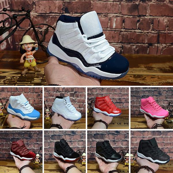 Nike Air Jordan 11 Retro Mens 11s Basketballschuhe zum Verkauf j11 Olive Orange Weiß Platinum Wolf Grey Snakeskin Kinder 11 XI Turnschuhe Stiefel 28-35