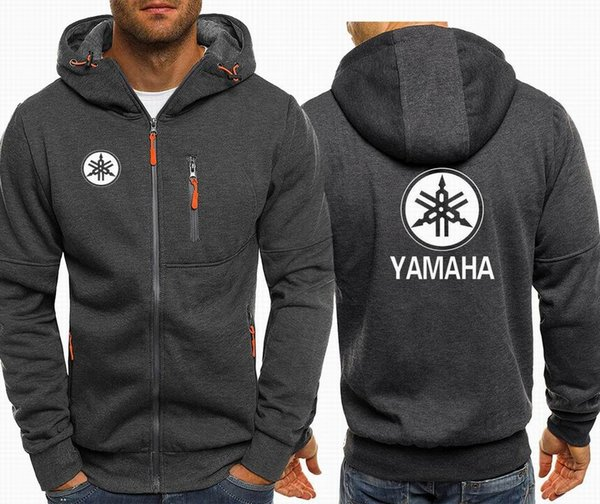 Bomber Jacket Men Autumn Winter Thick Warm Fleece Zipper Coat For Mens Sportwear Tracksuit Male B M Power Print Hoodies M