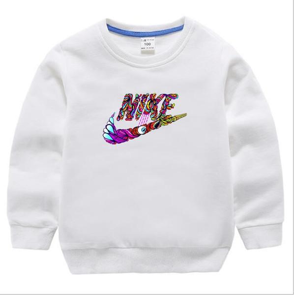 2019 Sonbahar Erkek T-shirt Çocuk Tees Bebek Çocuk Boy Kız Karikatür Kostümleri Giysi T Shirt çocuk Tişörtü Erkek Çocuklar Için Tops