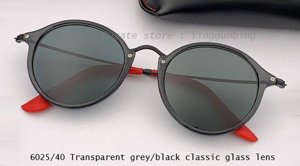 transparent gray/black classcic