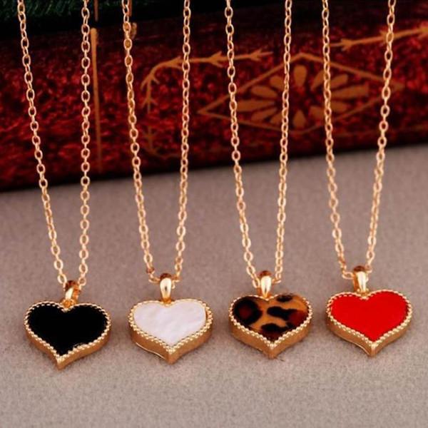 Цвет Случайный Мода Личность Любовь Короткое Ожерелье Корейских Женщин Ювелирные Изделия Любви