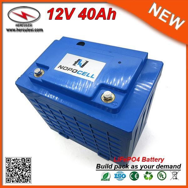 Бесплатная доставка LiFePO4 12V 40Ah литий-ионный аккумулятор для электрического велосипеда скутер автомобиля UPS Power Bank Stystem и уличный свет