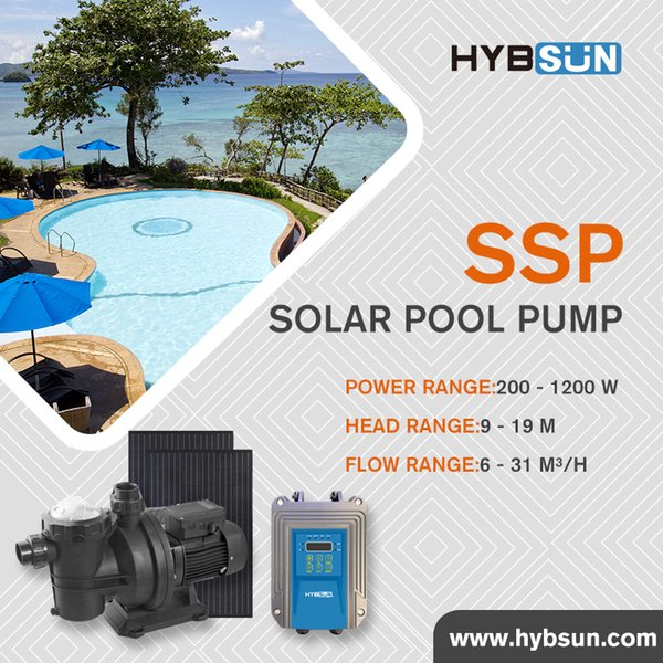 2019 SSP   Solar Swimming Pool Pump Solar Surface Pump Solar Swimming Pool  Pump DC24 550W Max Flow 6 M3/H Max.Head 9m SSP200A From Hybsun, $502.52    ...