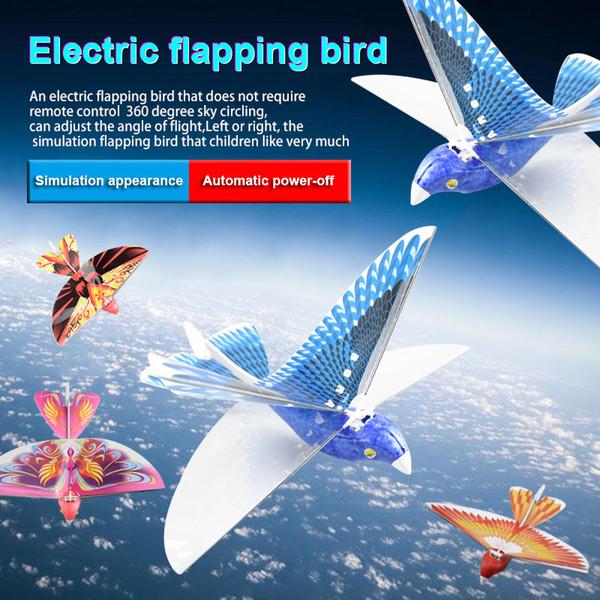 Uzaktan Kumanda Oyuncak RC Uçan Kuş Düzlem Çırparak Kanat Uçuş Modeli 2.4 GHz Drone Çocuk Hediyeler BM88