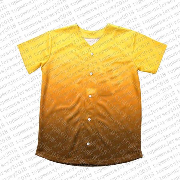 Top Custom Baseball Jerseys der Männer Stickerei Logos Jersey Freies Verschiffen billig Großhandel jeder Name eine beliebige Anzahl Größe M-XXL 37