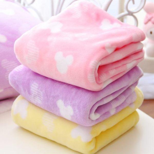 1pc very soft cartoon pure sweet pillow case cover plush flannel blanket bed sheet lady romantic gift baby girl toy