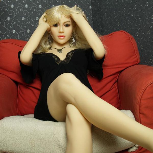 165см Секс Кукла Real взрослой жизнь небольшая грудь вагины секс игрушка для мужчин Tpe Sexy Dolls Полного размера силикона с скелетной Love Doll