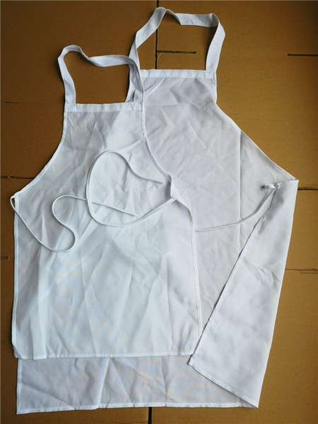 best selling sublimation aprons sublimation polyester blank apron hot transfer printing blank consumables adult and kids style big Promotion