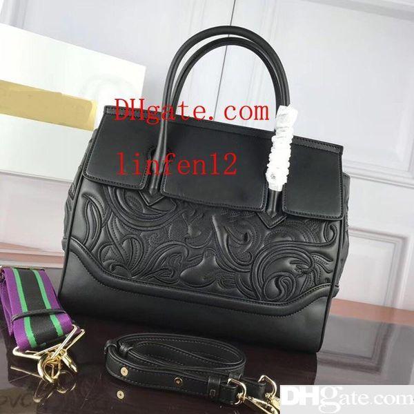 Berühmte Marke Designer Handtaschen Varsce Marke Medusa Kopf Stickerei große Kapazität Designer Taschen Mode Tote Luxus Handtasche Tasche