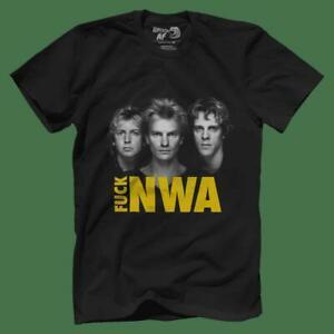F Nwa blaO-Neck T-shirts Camiseta talla M 3XL US 100 algodón hombres 039 s Tendencia mayorista 2019