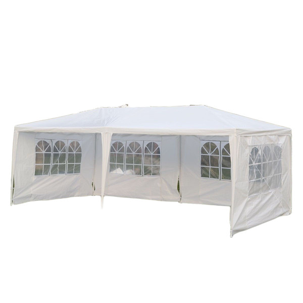 Outdoor 10\'x20\'Canopy Party Wedding Tent Gazebo Pavilion Cater Events 4 Sidewall