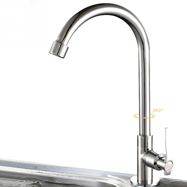2019 6 Types Deck Mounted Wall Mounted Cold Water Universal Rotatable  Vegetable Kitchen Faucet From Sakuna, $36.39   DHgate.Com