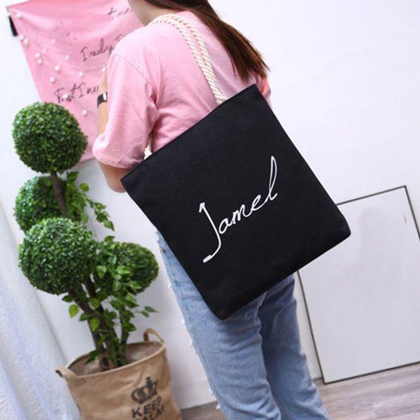 Bag For Woman Handbag Female Leisure Wild Shoulder Bag Lady Big Shopping Girls Literary Fabric School Animal Print Tote