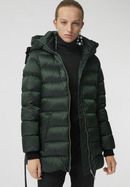 NOUVEAU 2019! manteau d'hiver en duvet de canard blanc 90% style chaud pour femmes / grande qualité Parka slim ceinturé pour femmes taille S-XL