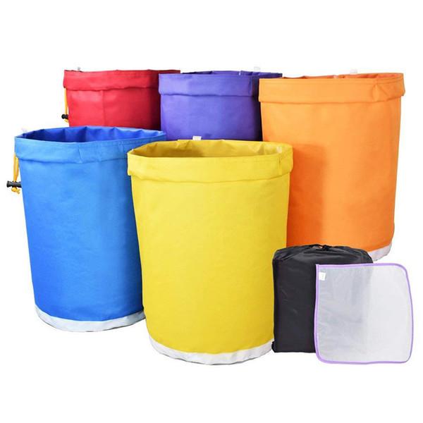 Kit d'extracteur Essence de fines herbes Ice Herbal de sacs de bulle de 5 gallons avec le filtre à mailles Oxford de sacs filtrants de jardin