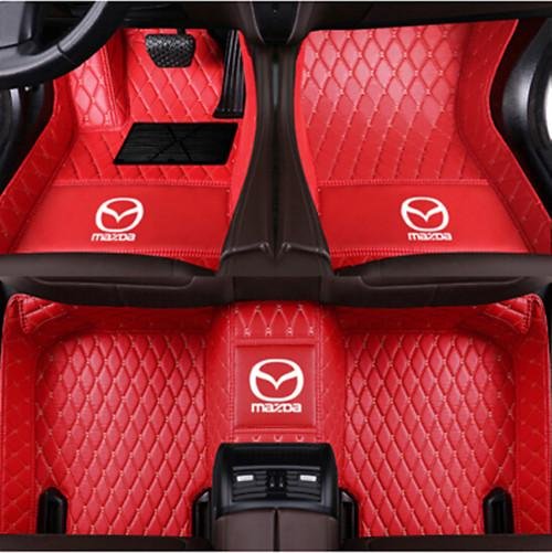 High Quality Car Floor Mats Set In Black//Blue To Fit Mazda 2 2014 on