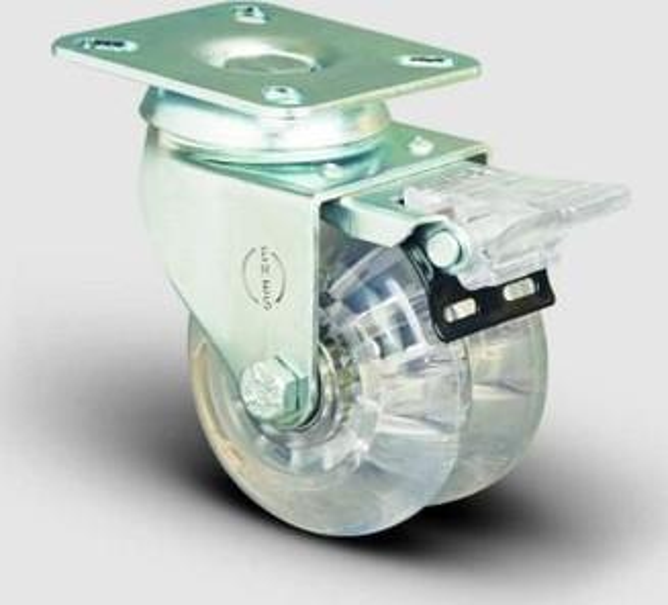Emes Spherical Table Linked Brake, Bush, Polyurethane Industry Dual Wheel Diameter: 50 - 50F Et01 Dkp Ship from Turkey HB-001738331