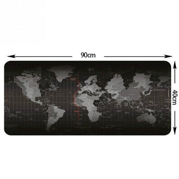 Mouse Pad Precision Locking Oversized Non-slip Padded Gaming Keyboard Pad