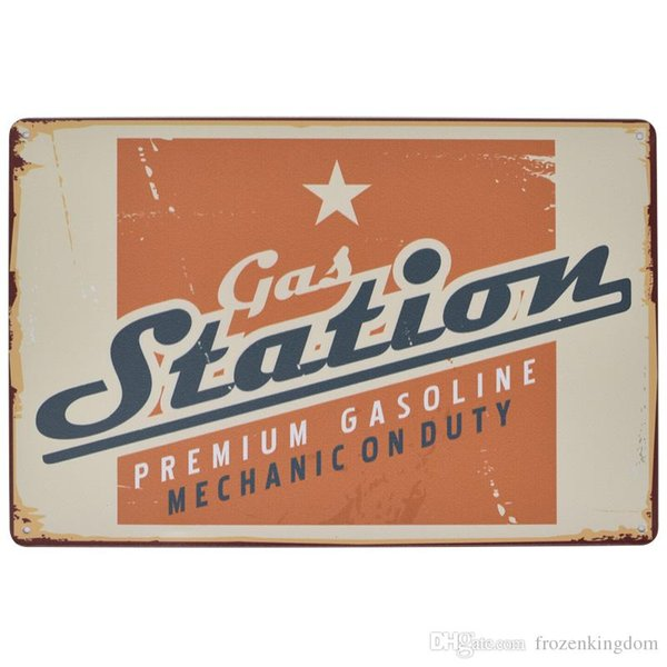 motor oil station lastest 20*30cm blond beauty motorbicycle Tin Sign Coffee Shop Bar Restaurant Wall Art decoration Bar Metal Paintings