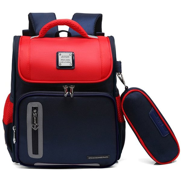 OURCIAO Boy School Backpacks classes 3 to 6 years of age Girl Waterproof Wear-resistant Nylon Children's School Bags Z921