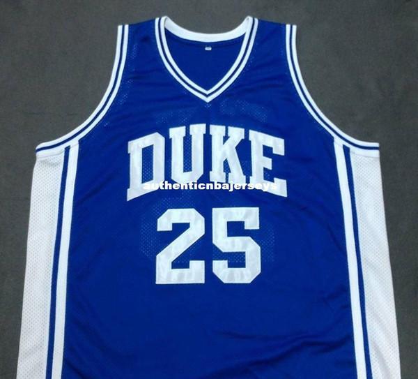 Cheap custom ART HEYMAN DUKE Devils Blue Basketball Jersey Embroidery Stitched Customize any size and name