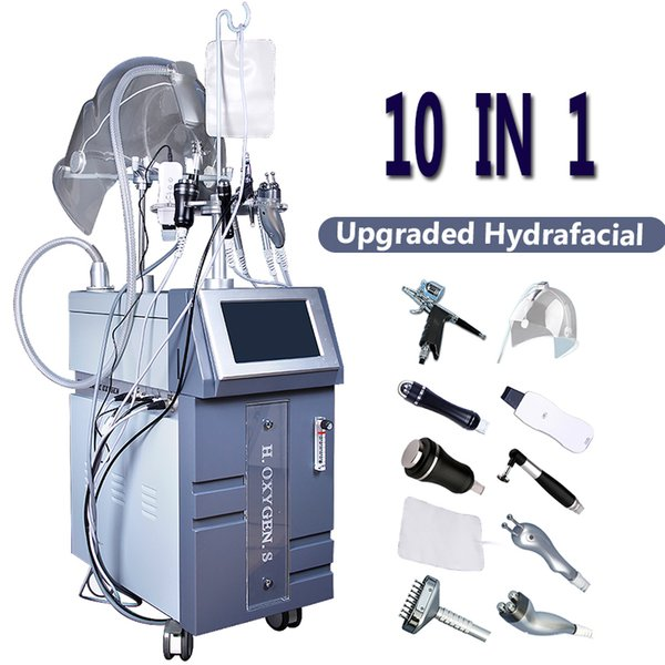 2019 High end Hydra Dermabrasion Facial Care Machine Hydro Skin Treatment O2 Therapy Skin Renewal Anti Wrinkle Finelines