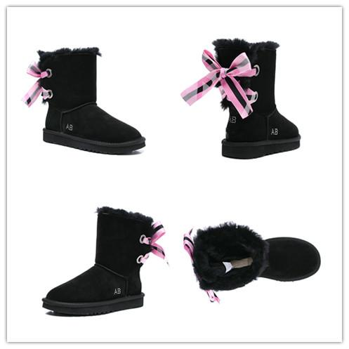 Hot Sale New Women's Australia Classic tall Boots Women girl boots Boot Snow Winter boots fuchsia black blue red leather shoes 07