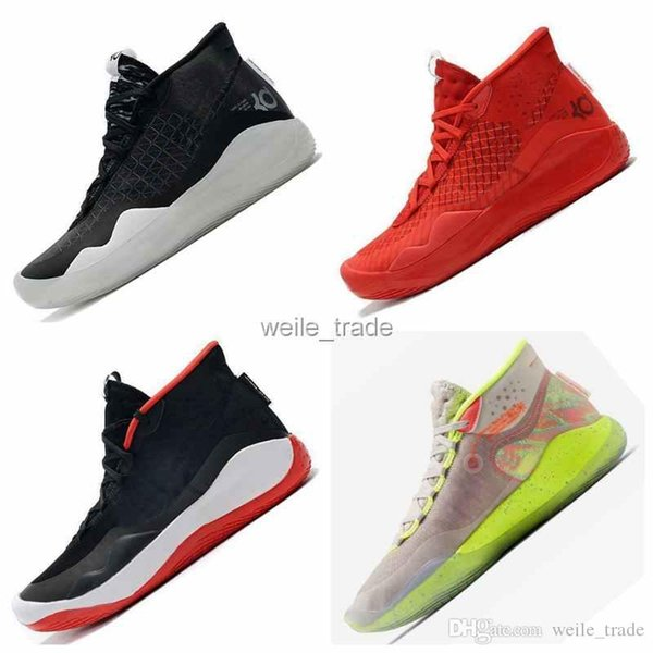 2019 Mvp Kevin Durant KD 12 Black glod Red 12s XII Oreo Mens Basketball Shoes USA Elite KD12 Sports Designer Sneakers Zapatos
