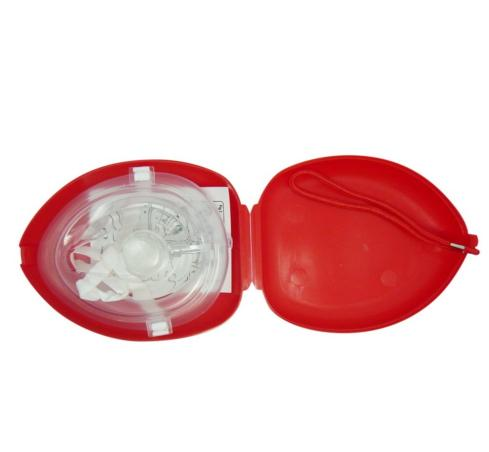 First Aid CPR Breathing Mask Protect Rescuers Artificial Respiration First Aid Masks CPR Breathing Mask One-way Valve Tools 35pcs