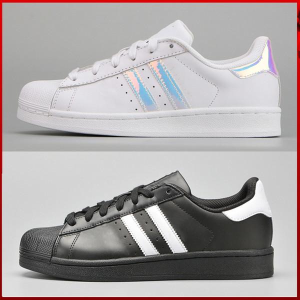 premium selection d4b51 8f9f3 adidas superstar stan smith Hot 2017 Moda para hombre zapatos casuales Superstar  smith stan Mujer Zapatos