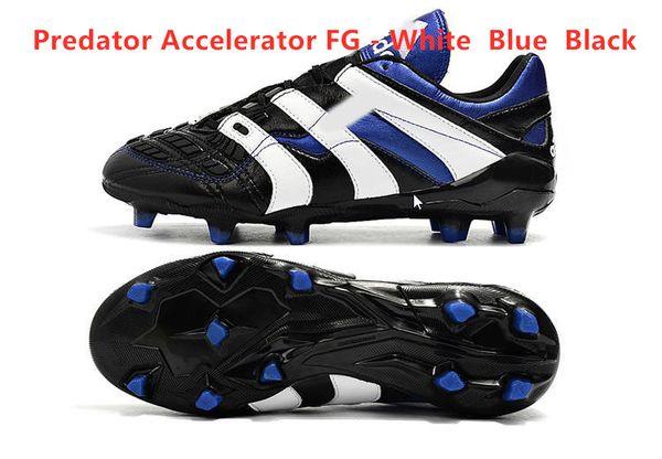 Accelerator FG - أبيض أزرق أسود