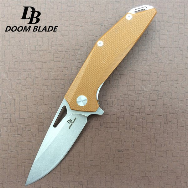 High hardness D2 blade Ball Bearing folding knife multi-function outdoor pocket folding knife