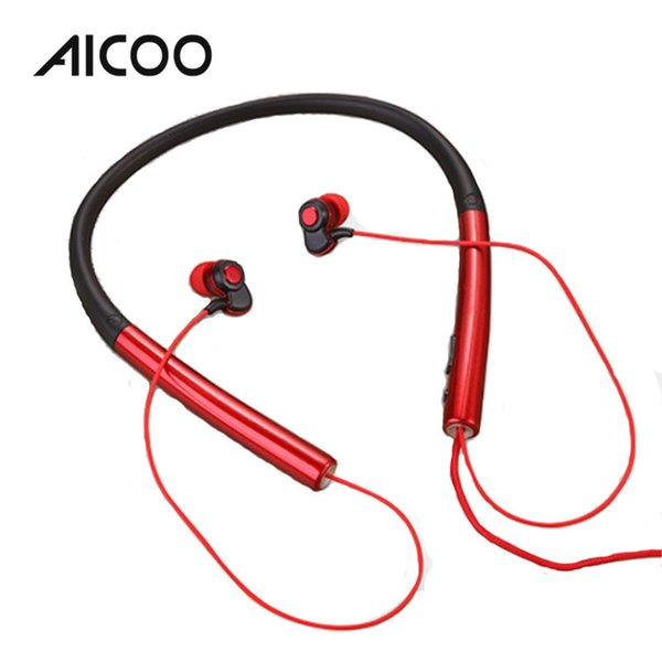 AICOO N2 Wired Neckband Headset In-ear with Microphone Noise Reduction Stereo Earphone for iPhone XS XR Samsung Android Retail Package