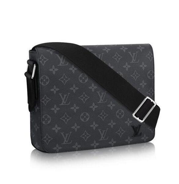 DISTRICT MM M44001 Men Messenger Bags Shoulder Belt Bag Totes Portfolio Briefcases Duffle Luggage