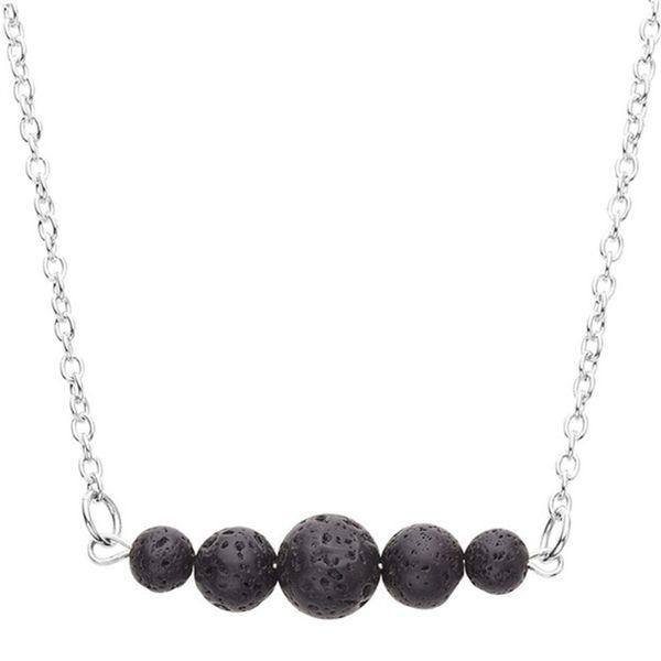 Lava Bar Diffusing Necklace Minimal Diffuser Essential Oil Minimalist Oil Bead Diffuser Jewelry