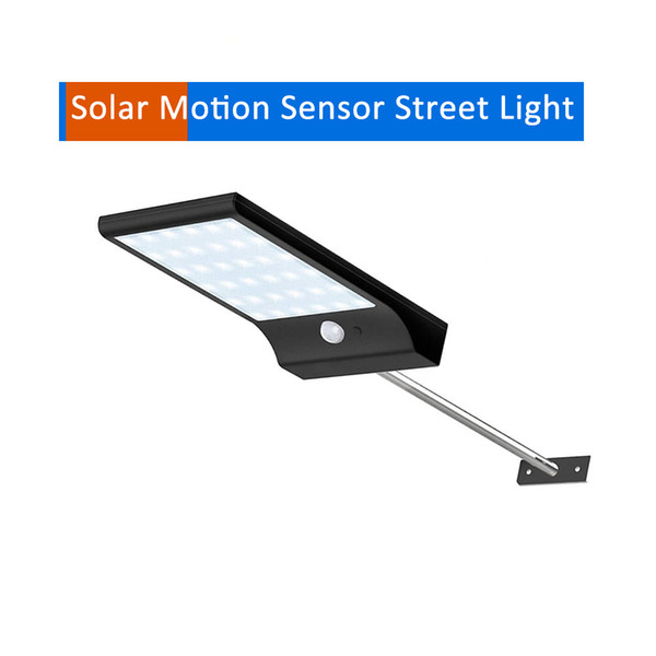 Aluminum pole solar street light Upgraded 36/48 LEDs Three Modes Waterproof solar light security lamp for garden yard pathway pa for yard g
